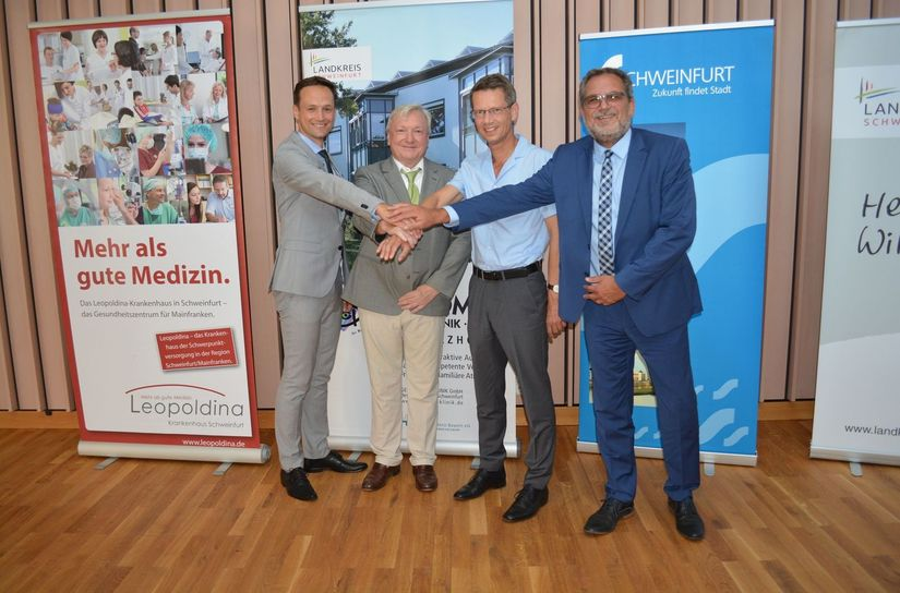 Landratsamt Schweinfurt Geomed Kreisklinik und Leopoldina